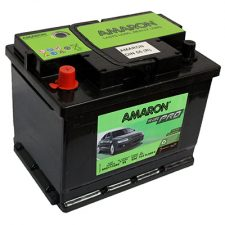 AMARON DIN (DIN55-RIGHT) 55 Amperes Positive Right Terminal Maintenance Free BLACK Colored BATTERY