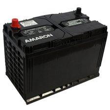 Amaron GO N70 ZMF 90AH Positive Left Terminal Maintenance Free BLACK Colored Battery