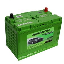 Amaron HiLife N95 ZMF 90AH Positive Right Terminal Maintenance Free GREEN Colored Battery