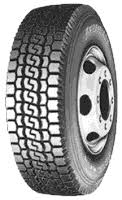 BRIDGESTONE Light Truck TUBELESS 8.5 R17.5 M716 Pattern Tyre