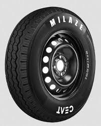 CEAT Light Truck Tubeless 195 R14 MILAZE Pattern Tyre