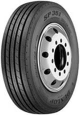 DUNLOP Light Truck TUBELESS 215/75 R17.5 SP351 Pattern Tyre