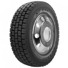DUNLOP Light Truck TUBELESS 215/75 R17.5 SP442 Pattern Tyre