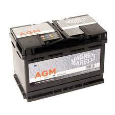 MAGNETTI MARELLI 74 Amperes STANDARD Left Terminal Maintenance Free GREY Colored BATTERY