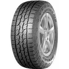 Car Type 4×4/VAN/SUV Color BLACK Rim Size 17 Inches Terrain A/T (All Terrain) Tyre Brand DUNLOP Tyre Pattern AT5 Tyre Size 225/70 R17